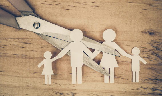 Kinderen vertellen dat je gaat scheiden