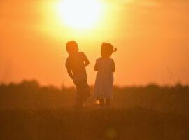 parallel ouderschap, spelende kinderen